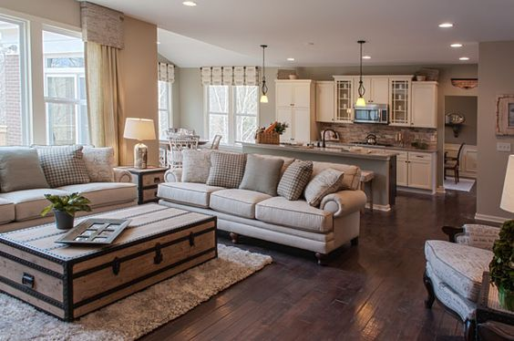 country style neutral living room - Neutral Living Room