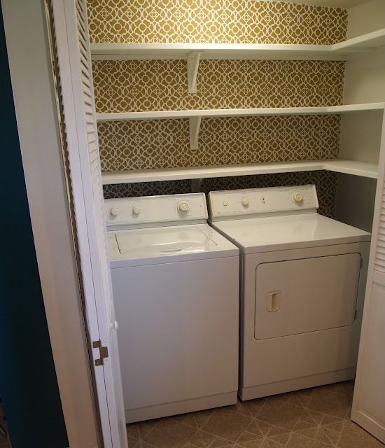 Laundry Room Closet Organization Ideas Part - 25: Pantry Shelves For Laundry Room Storage