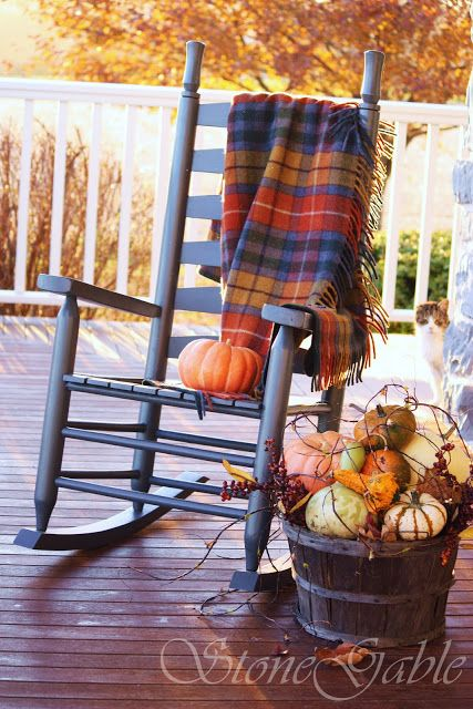 DIY Cozy Fall Front Porch Decor