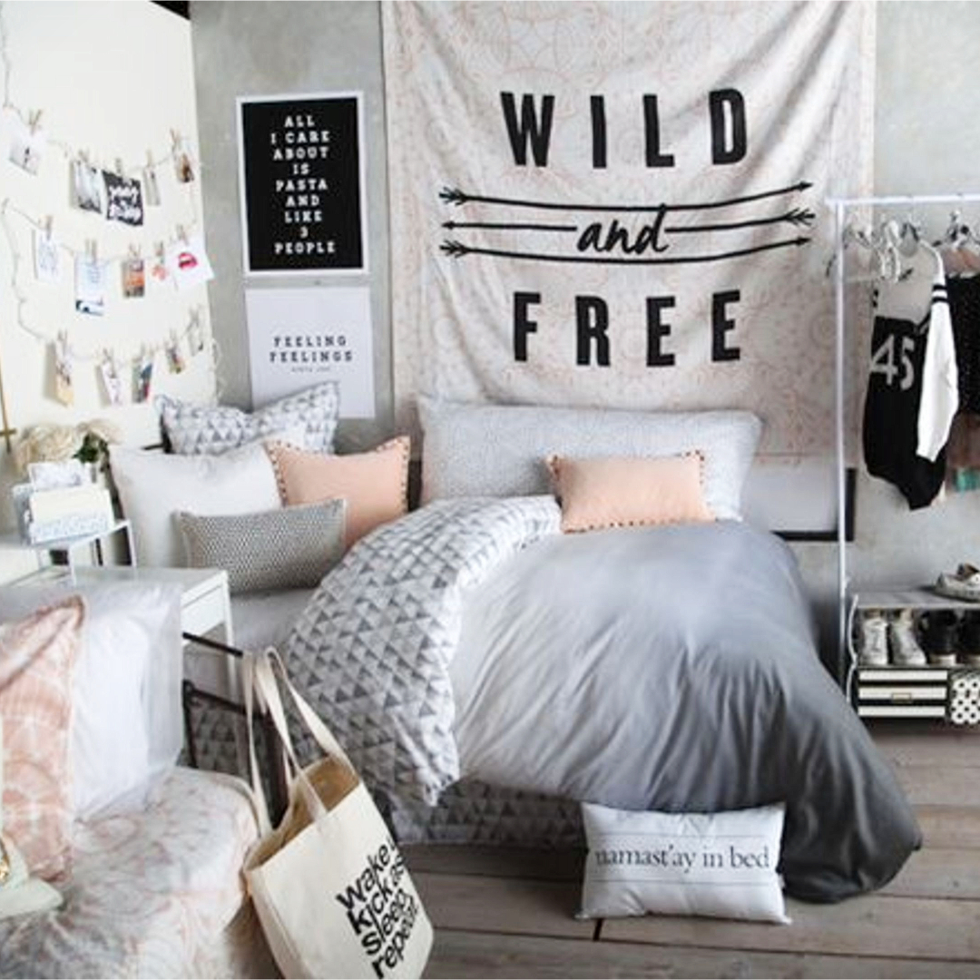 35 Cool Teen Bedroom Ideas That Will Blow Your Mind: Teen Bedroom Makeover Ideas