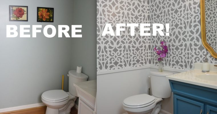 Easy DIY Bathroom Makeover Ideas