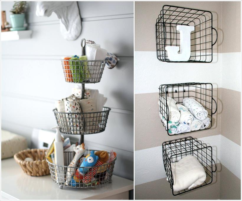 Baby Room Organization Ideas Nursery Storage Hacks