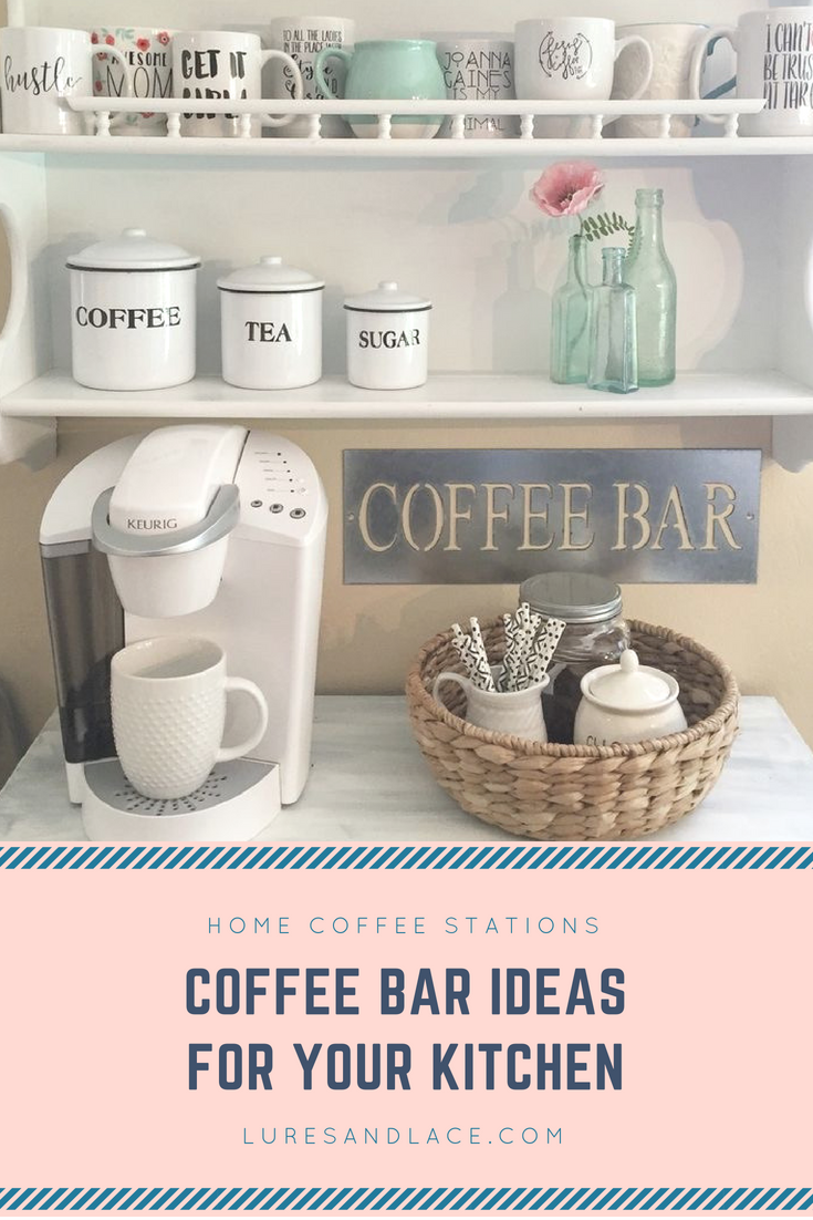 Home Coffee Bar / Coffee Station Ideas for Your Kitchen - Coffee Bar Setup Ideas, Coffee Inspired Decor and Coffee Station Inspiration