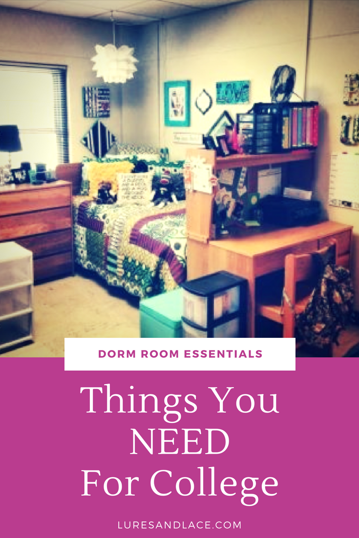 Things You NEED For College - Dorm Room Essentials | List of the MUST HAVE items you will need for your new college dorm recommended by former college students