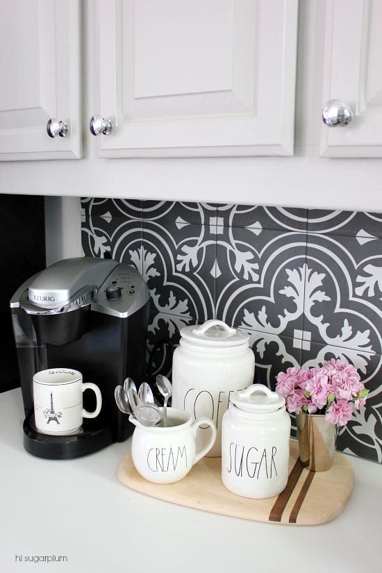90 Beautifully Designed Countertop Coffee Stations
