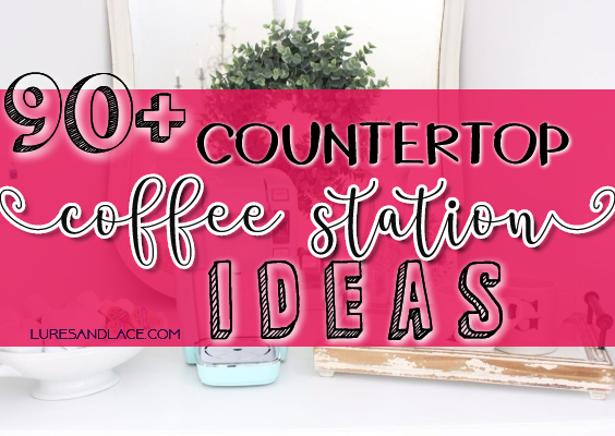 90+ Beautiful Countertop coffee station ideas for your kitchen