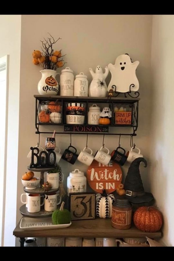 55 Ways To Decorate Your Tiered Tray For Halloween